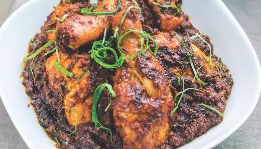 Ayam Rendang Hitam