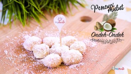 Ondeh- ondeh kelapa
