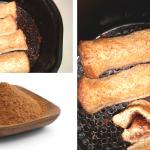 Lembut Di Luar, Cair Di Dalam. Jom Cuba Resepi Roti Cinnamon Coklat, Guna Air Fryer Je!