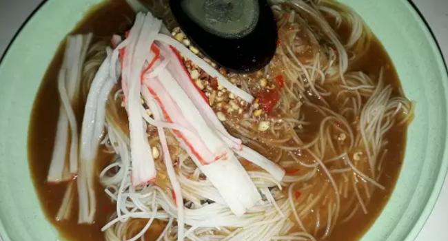 Resepi Mee Belacan Sarawak, Makan Panas-Panas Memang Ngam Lah