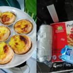 Hanya Guna Puff Pastri, Ini Resepi Tat Telur Portugis Ala Bakers Cottage!