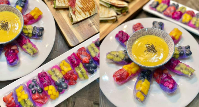 Jom Cuba Resepi Spring Roll Buah-Buahan, Sesuai Untuk Korang Yang Tengah Diet!