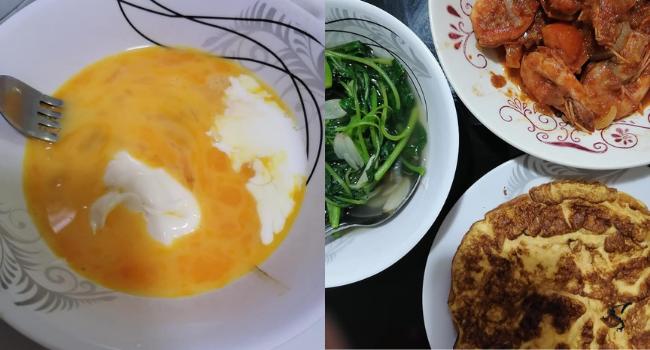 Tips Telur Dadar Gebu & Sedap, Hanya Guna 3 Bahan Sahaja!