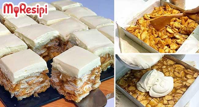 Kek Batik Horlick Cheese