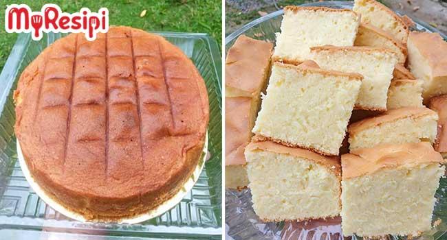 kek butter kampung