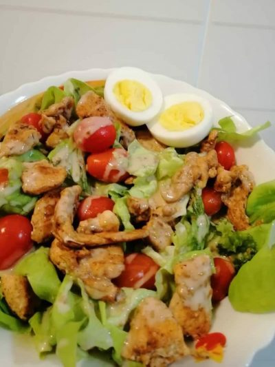 resipi chicken salad