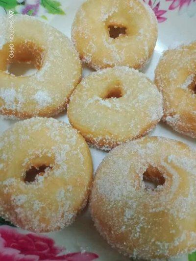 resipi donut gebu
