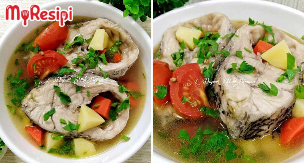 cara buat sup ikan