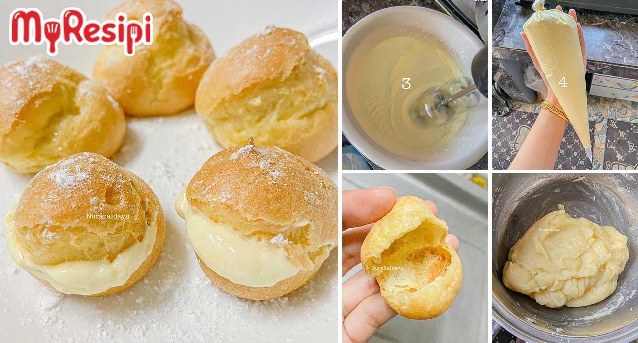 resipi cream puff