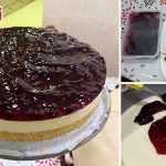 Resipi Blueberry Cheese Cake Tak Perlu Bakar & Tak Guna Mixer, Kos Bahan RM35 Je!