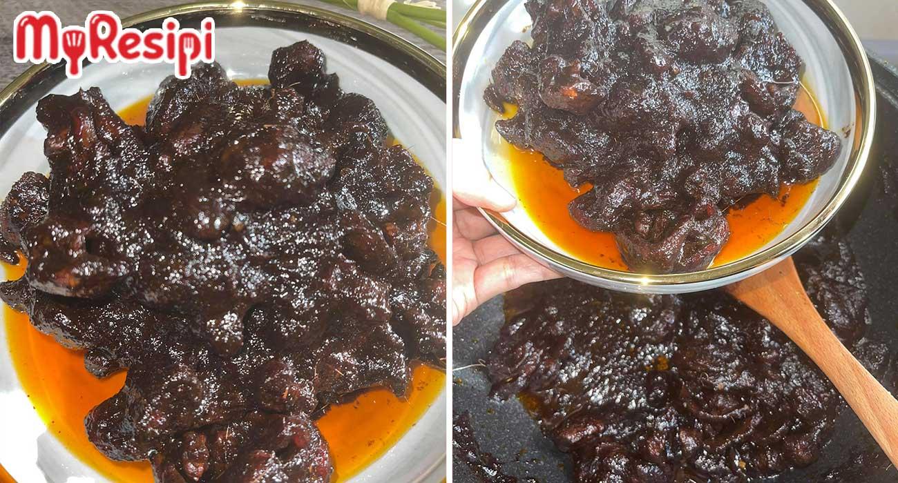 resipi daging masak hitam