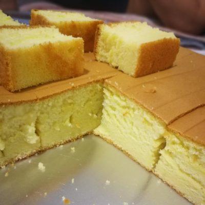 resipi kek butter moist